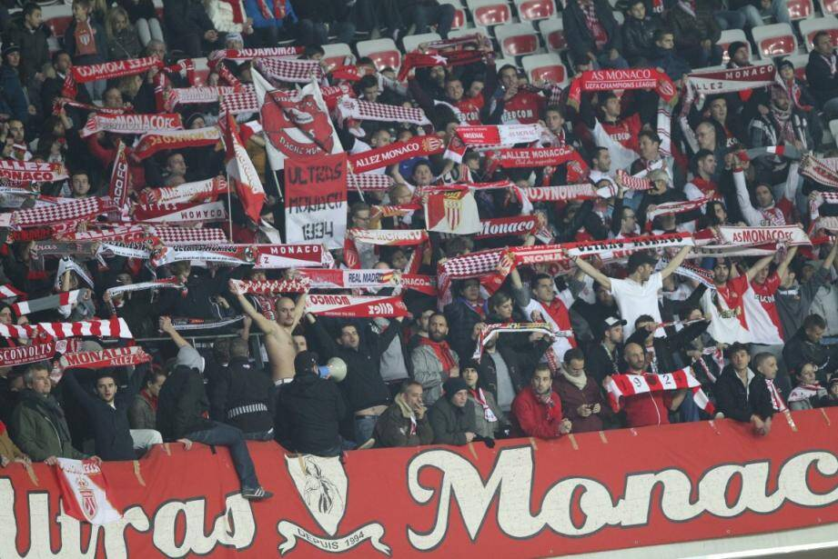 supporters as monaco derby ogc nice allianz riviera 15021