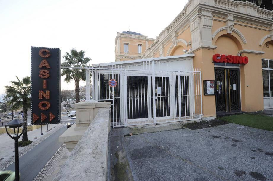 Les enseignes ne s'allumeront plus et les grilles resteront fermées au casino de Grasse.