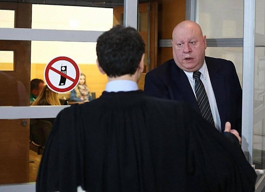 Présent au procès en première instance, Henri Alonzo n'était pas dans le box pour son procès en appel.