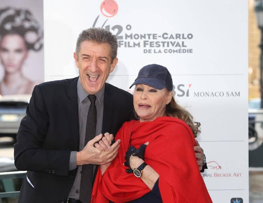 Le président du festival, Ezio Greggio, hier, a célébré cette douzième édition au bras de la légendaire actrice Ursula Andress.