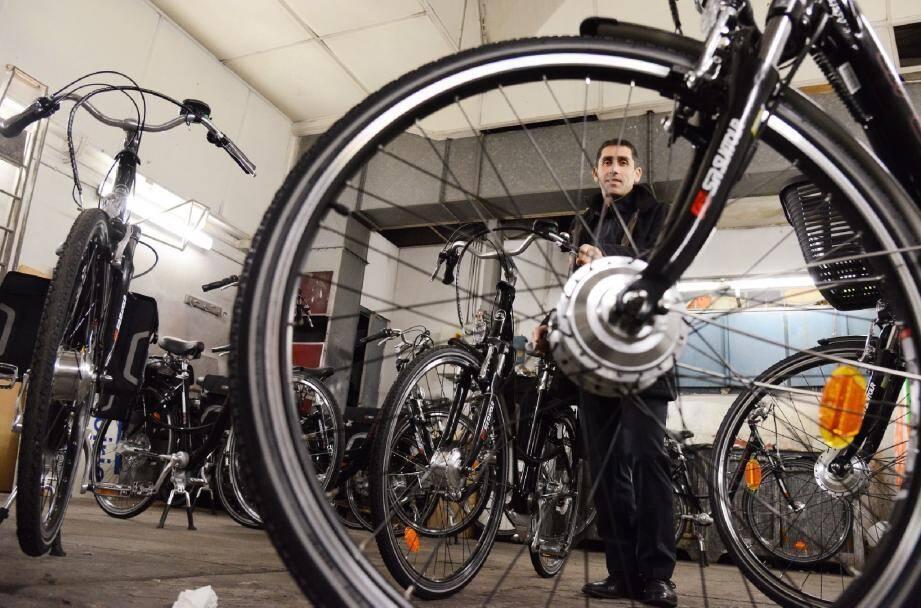 Des vélos à disposition des agents municipaux, une des dernières mesures vertes de la Ville.