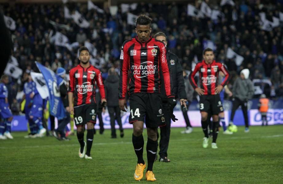 Jordan Amavi sait que l'OGC Nice doit relever la tête et gagner en championnat.(Photo Franck Fernandes)