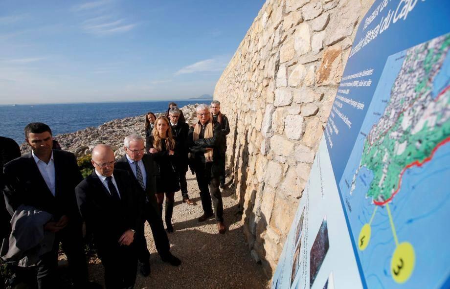 Le président du conseil général et le maire d'Antibes ont pu constater lundi matin la qualité de la rénovation.