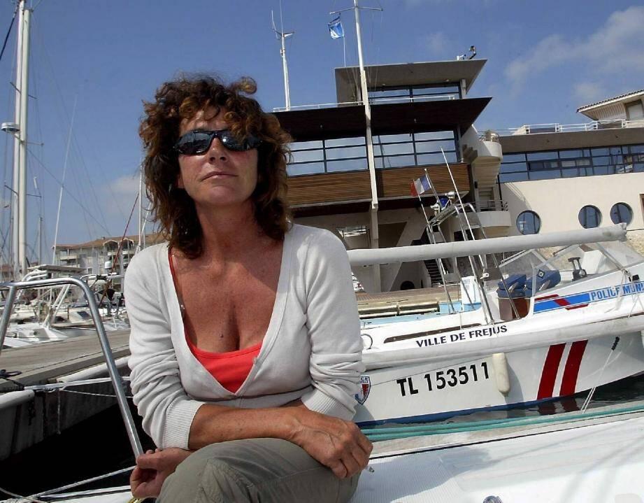 Florence Arthaud avait fait une dernière escale à Saint-Raphaël en 2010, lors de « La Croisière des guerrières ».