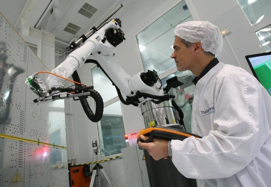 Pascal Gaudin, l'homme qui murmure aux oreilles des robots.