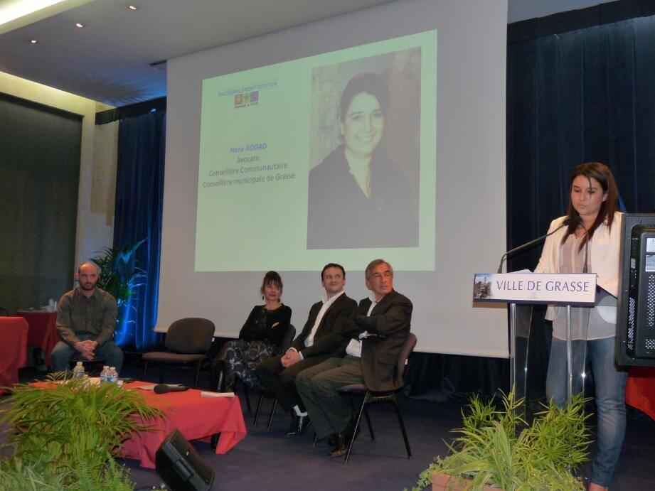 Les candidats de Grasse à Tous ont insisté sur leur volonté de « remettre le citoyen au cœur du débat ».