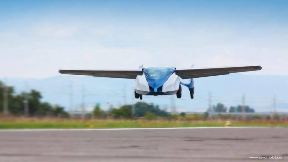 L'Aeromobil, conçue par une société slovaque, sera incontestablement le clou du salon top Marques Monaco qui se déroulera au Grimaldi Forum le mois prochain. (DR)