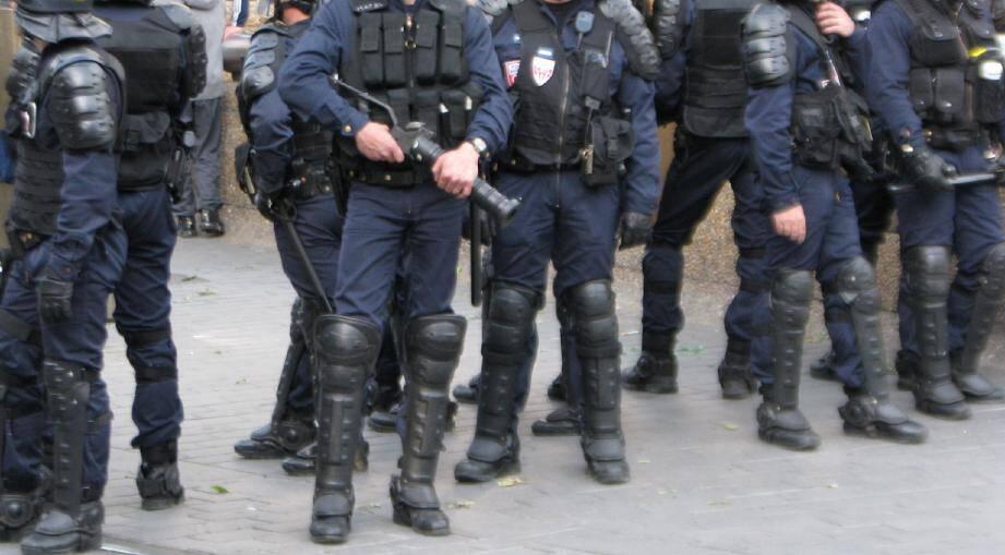 Ce sont les CRS qui ressentent le plus la sensation de mal-être au sein de la police nationale.