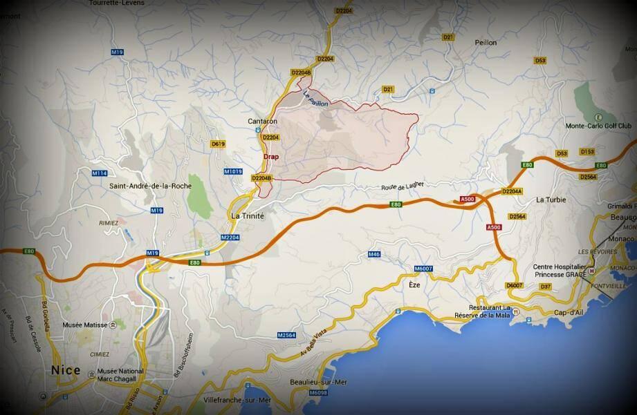 drap carte localisation 150306