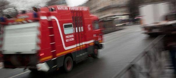 Camion de pompier illustration