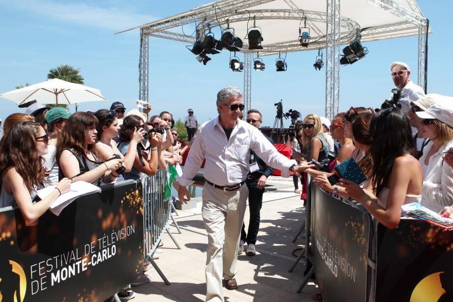 Patrick Duffy président du Festival TV