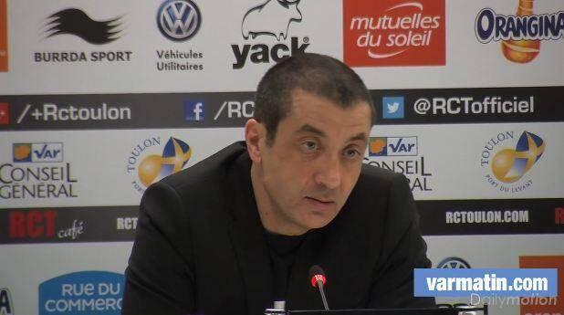 Boudjellal après défaite RCT-Toulouse