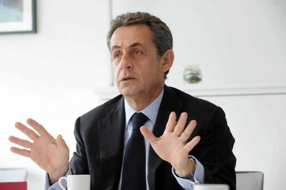 Nicolas Sarkzoy a reçu le groupe Nice-Matin à Paris avant les élections départementales
