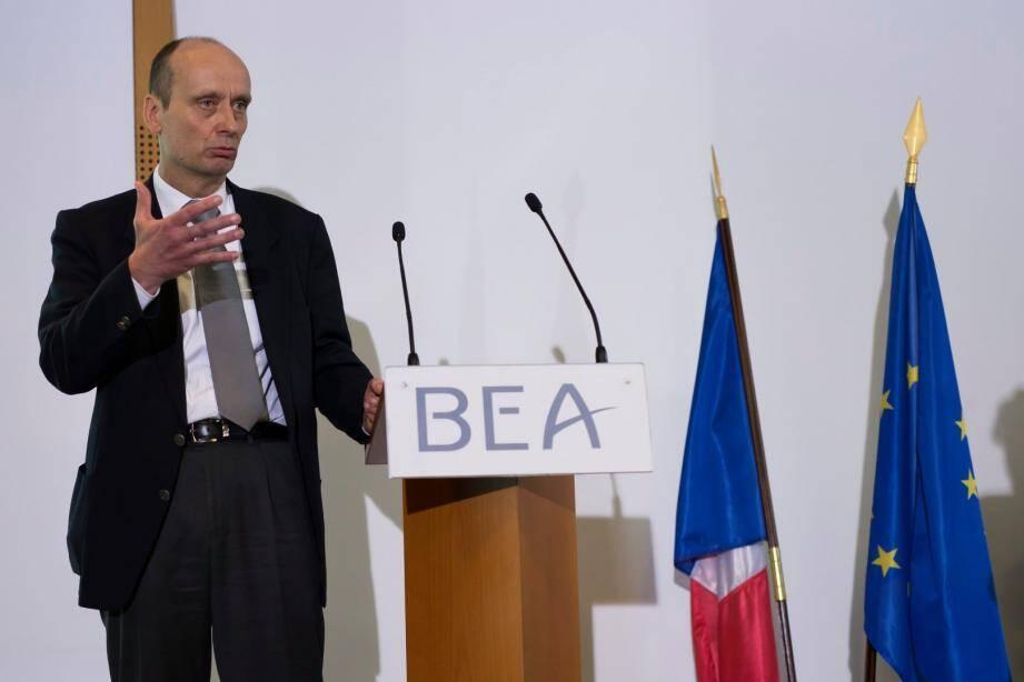 Remi Jouty,  directeur du BEA.