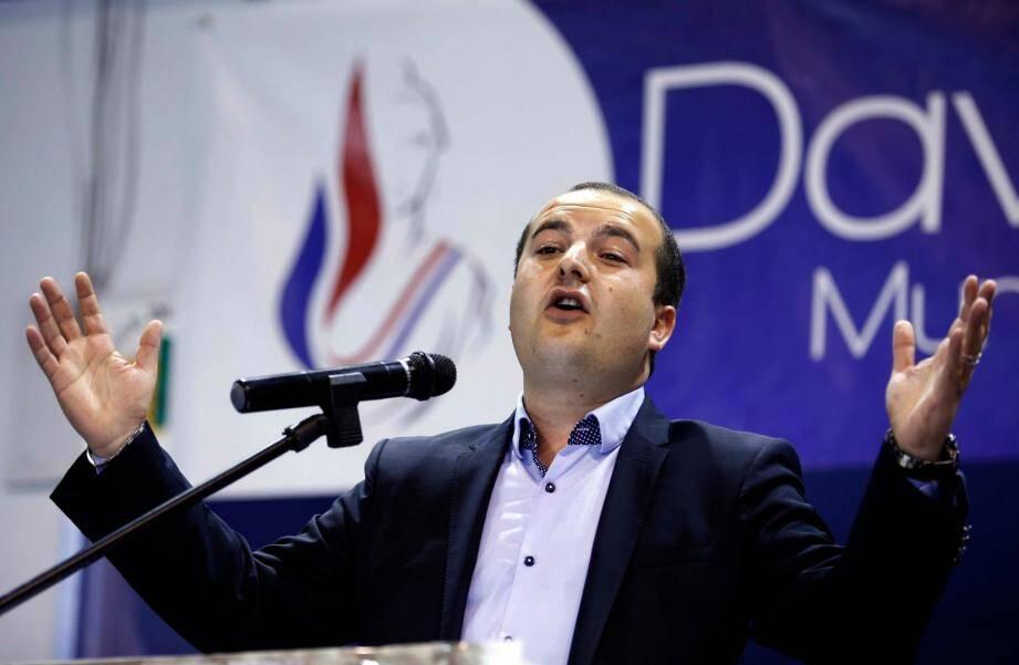 Le maire FN de Fréjus David Rachline.