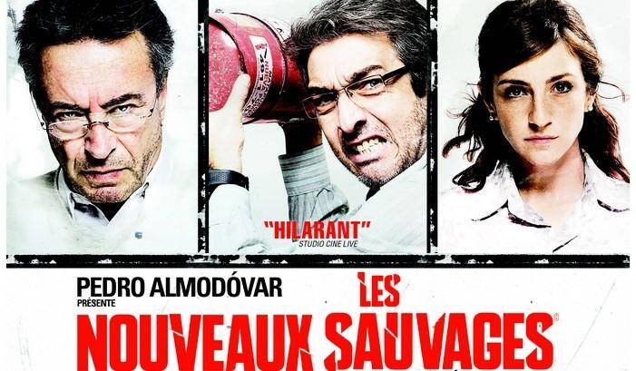 """Affiche du film """"les nouveaux sauvages"""""""