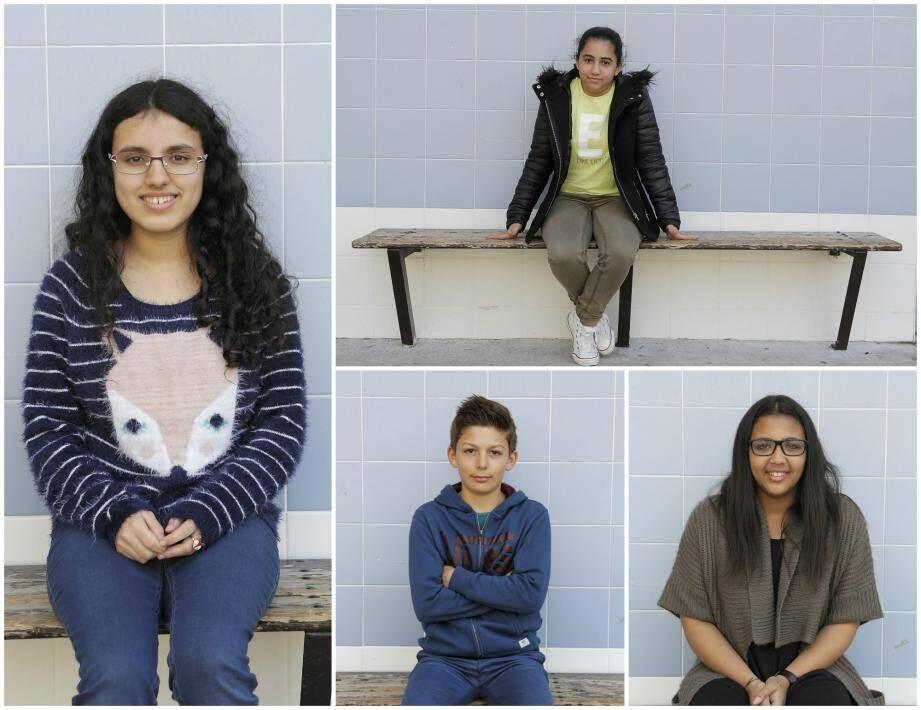Maéva Peretti, Sarra El Gares, Robin Fournier et Océane Nourault, 13 ans, ont mis des mots sur leurs sentiments. Le résultat est étonnant... et parfois bouleversant.