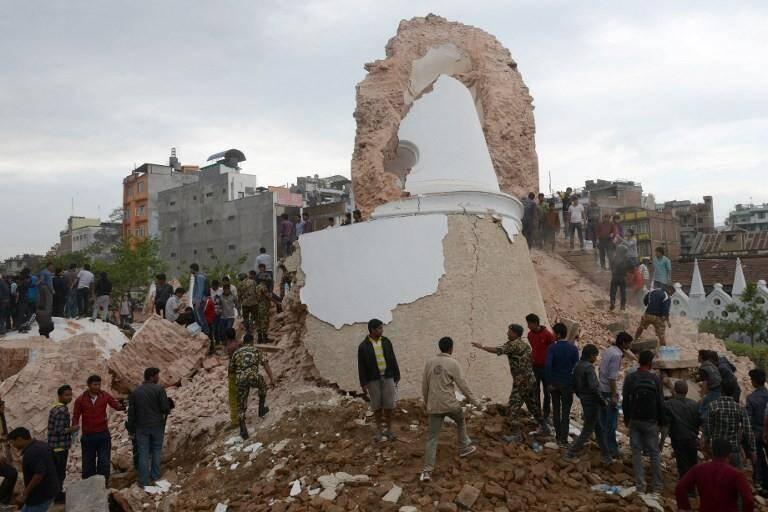 nepal katmandou seisme 150425
