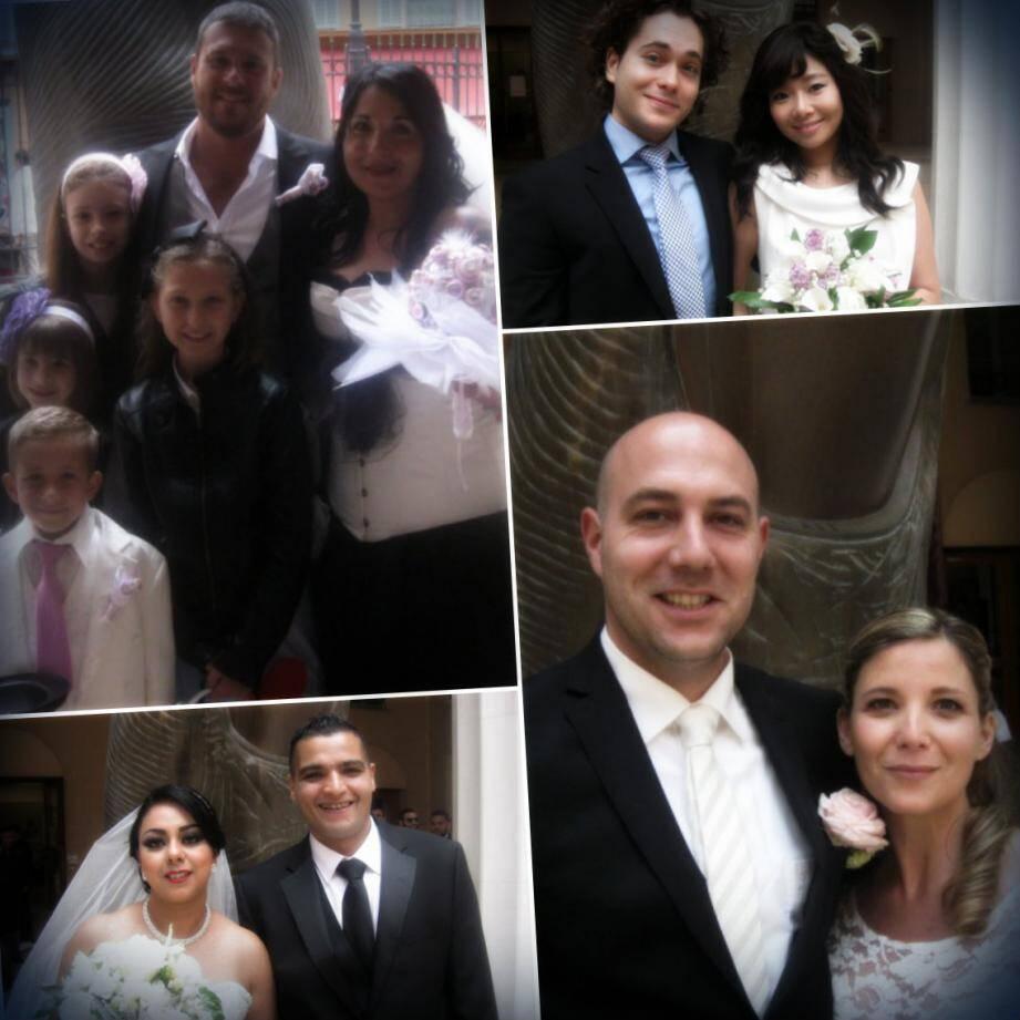 Les mariés du week-end à Nice
