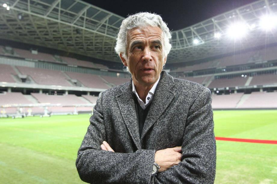 Jean-Pierre Rivère, président de l'OGC Nice