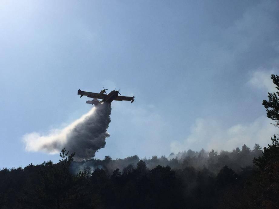 Sept passages ont été nécessaires pour étouffer l'incendie. (Photo DR)