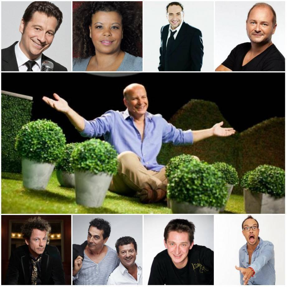 De nombreux artistes sont à l'affiche des Sérénissimes de l' Humour 2015.