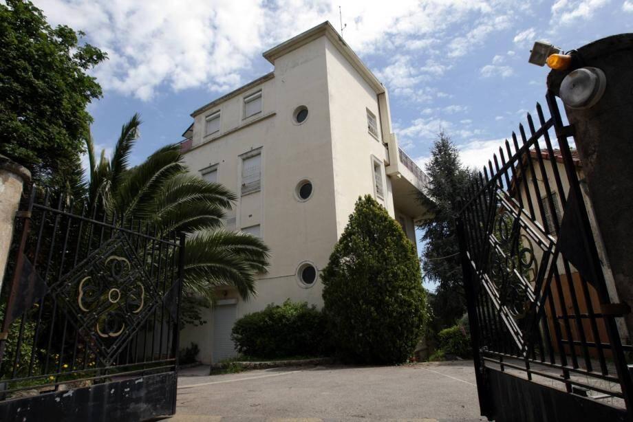 La Villa Inch'Allah qui appartient à la propriété dite de la Garoupe au Cap d'Antibes mise en vente par le conseil départemental.