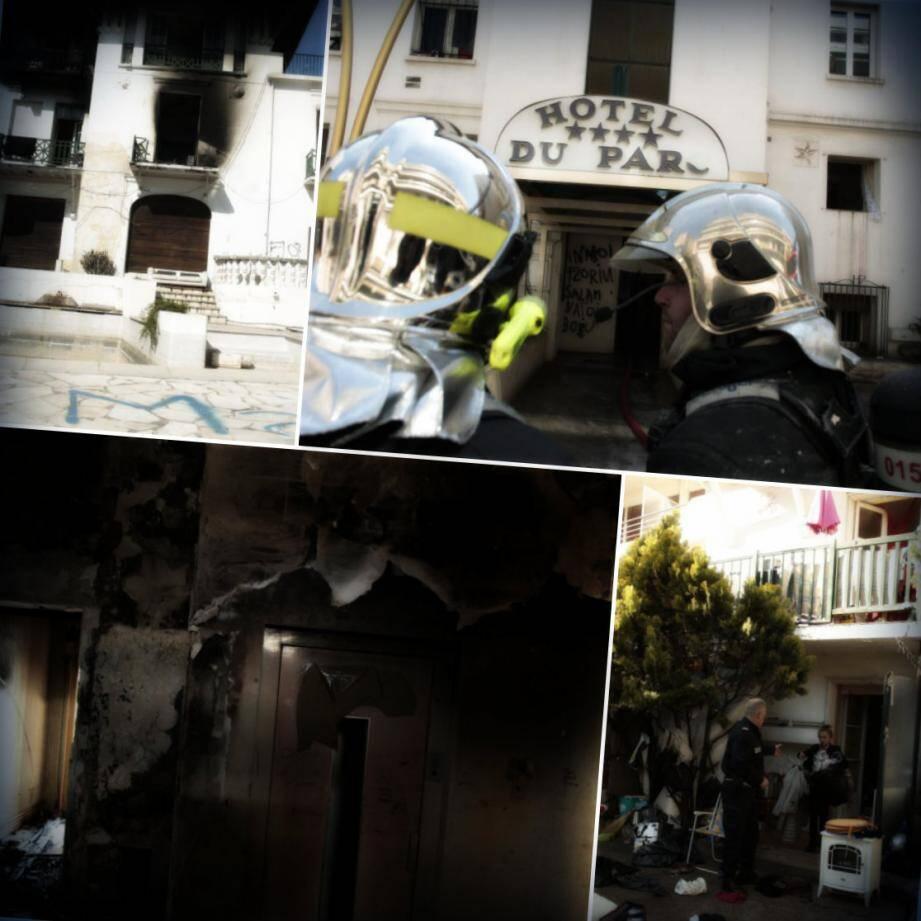 Sous le coup d'une expulsion, les membres de la communauté rom ont juste eu le temps de quitter l'hôtel du Parc.