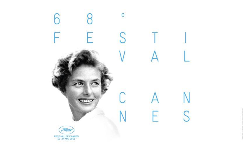 Ingrid Bergman à l'affiche du 68e Festival de Cannes
