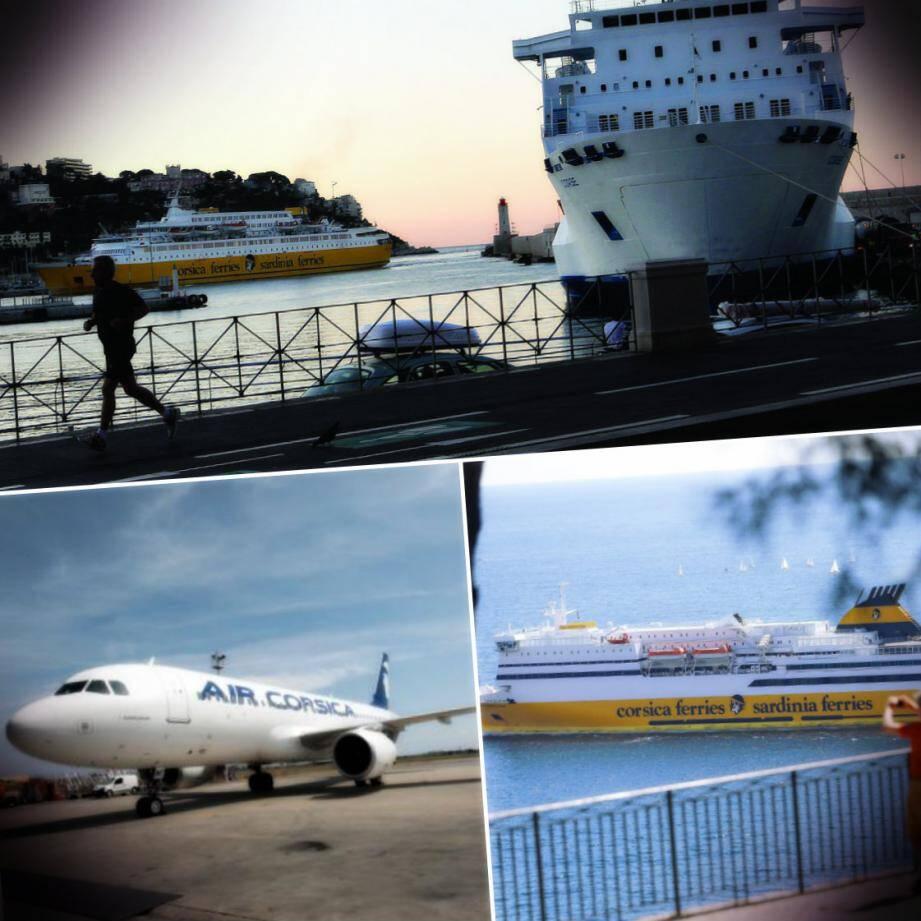 Fini, les départs à bord des navires blanc-bleu depuis le port de Nice vers la Corse. Désormais, seule la flotte jaune de Corsica Ferries relie directement la Côte d'Azur et l'île de Beauté.