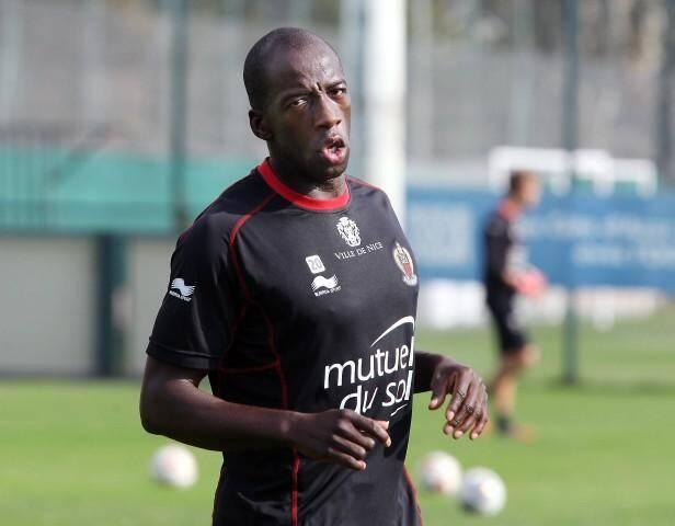 Souleymane Diawara à l'entraînement OGC Nice