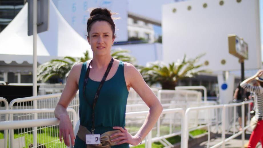 Manon Baltazar a choisi de défendre son film au marché du film du festival de Cannes. Un pari audacieux qui peut se révéler payant.