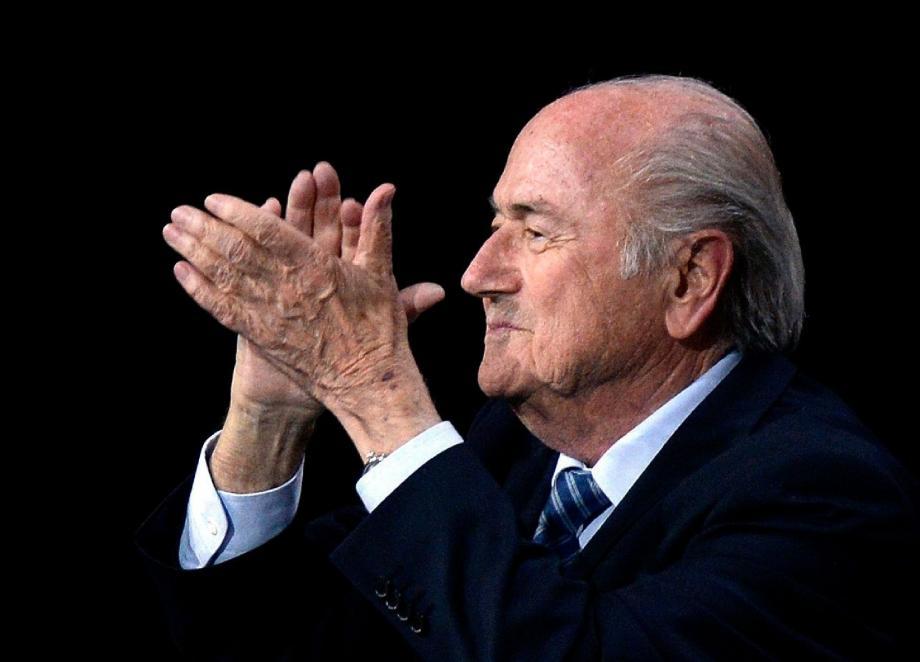 Autosatisfaction, hier à Zurich, pour Joseph Blatter...