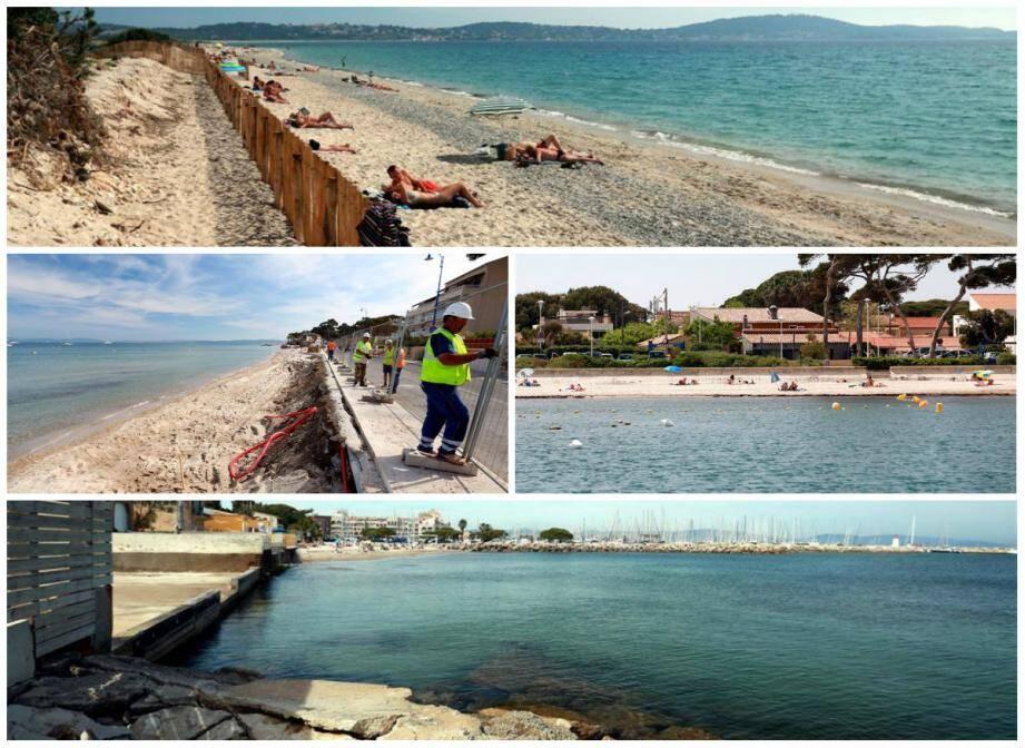 A Hyères, les plages sont remises en état avant l'affluence estivales