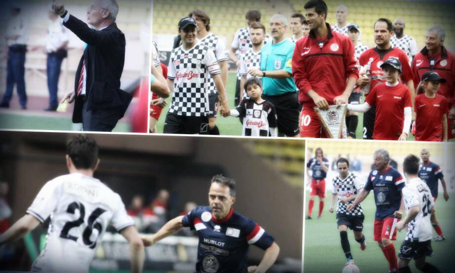 Novak Djokovic pour la Starteam et Felipe Massa pour la F1 team. Deux capitaines au grand cœur qui ont emmené leurs deux équipes à se dépasser et à donner le meilleur spectacle pour la cause des enfants.