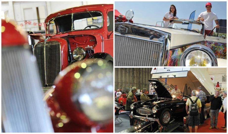 PHOTOS. Les belles mécaniques 7e Rétro auto forum de Fréjus