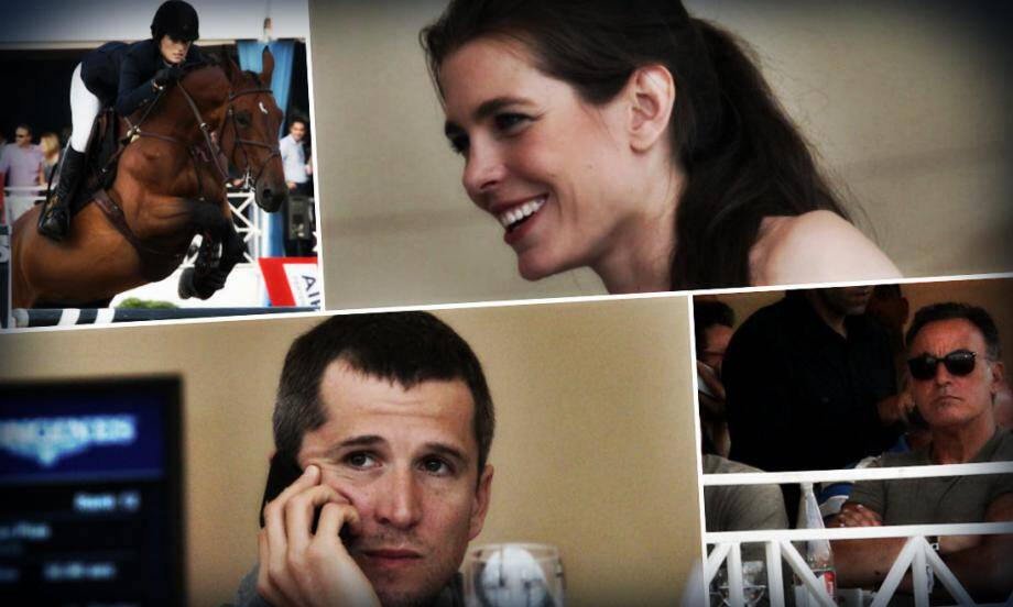 Parcours de haute volée pour Guillaume Canet et Charlotte Casiraghi qui ont concouru au Jumping à Cannes. Du côté de Bruce Springsteen, on est venu encourager la fille du chanteur