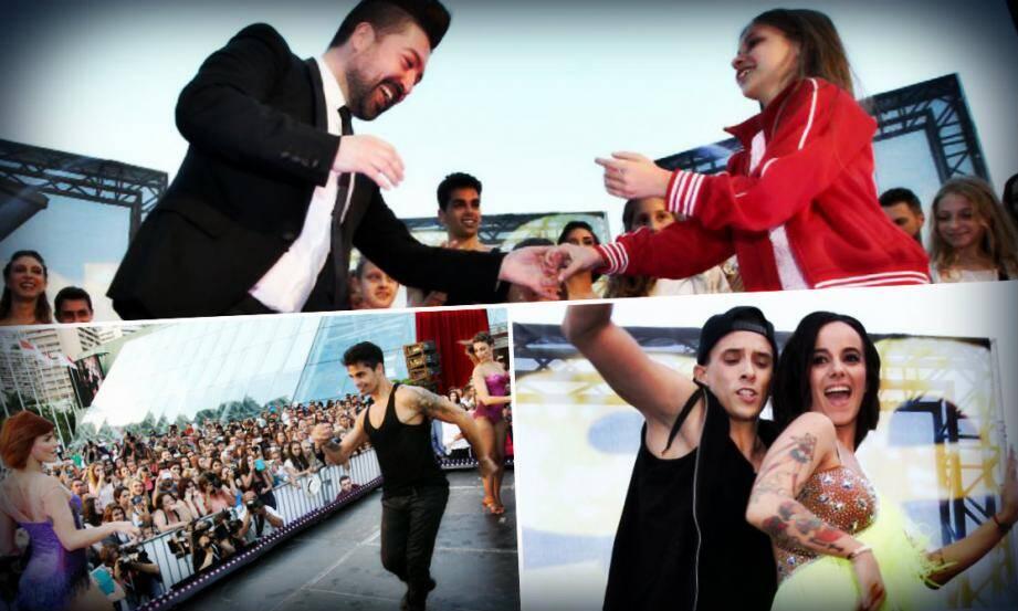 Chris Marques, Fauve, Christian et Alizé ont fait dansé le Grimaldi Forum, dimanche