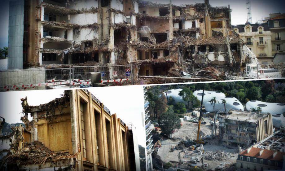 La démolition du Sporting d'Hiver, en plein coeur de Monte-Carlo, suscite de nombreuses réactions, en particulier de la part des Monégasques.