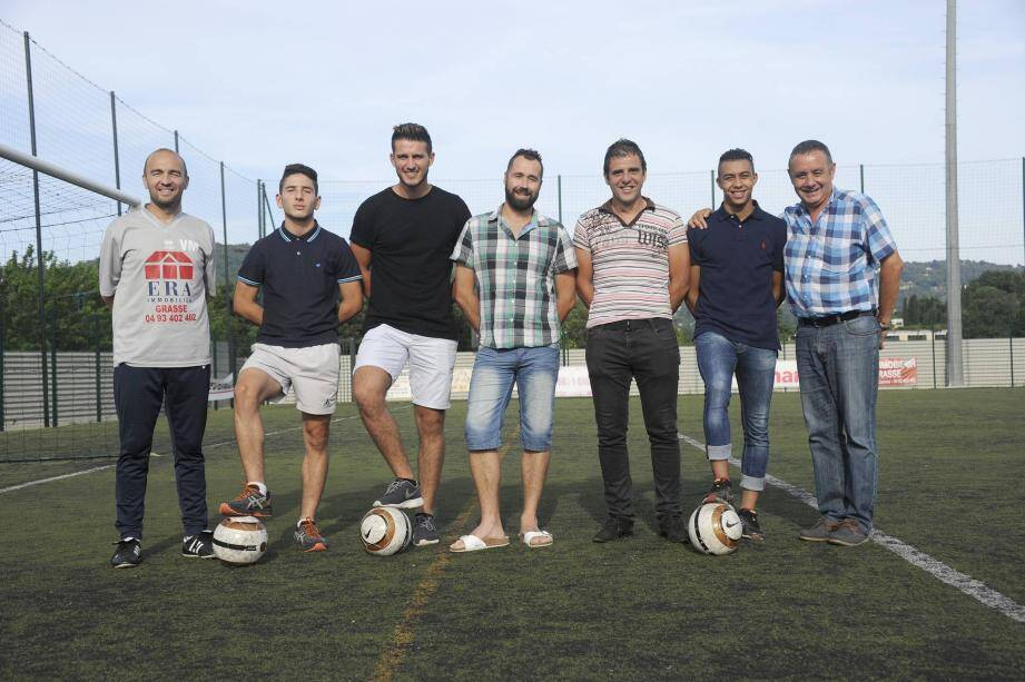 Football: le Racing Club de Grasse soigne sa formation