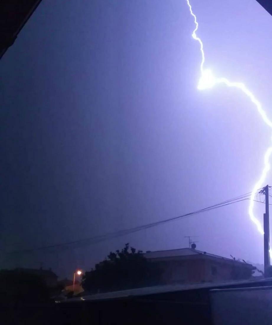 luc en provence orage orages centre var 150614