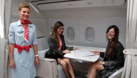 La suite La Première cumule confort et innovation dans 3 m2 pour un passager.