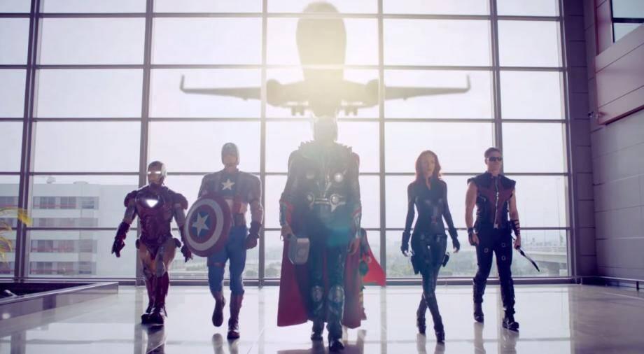 Ces héros Marvel dans la vidéo de Pegasus Airlines