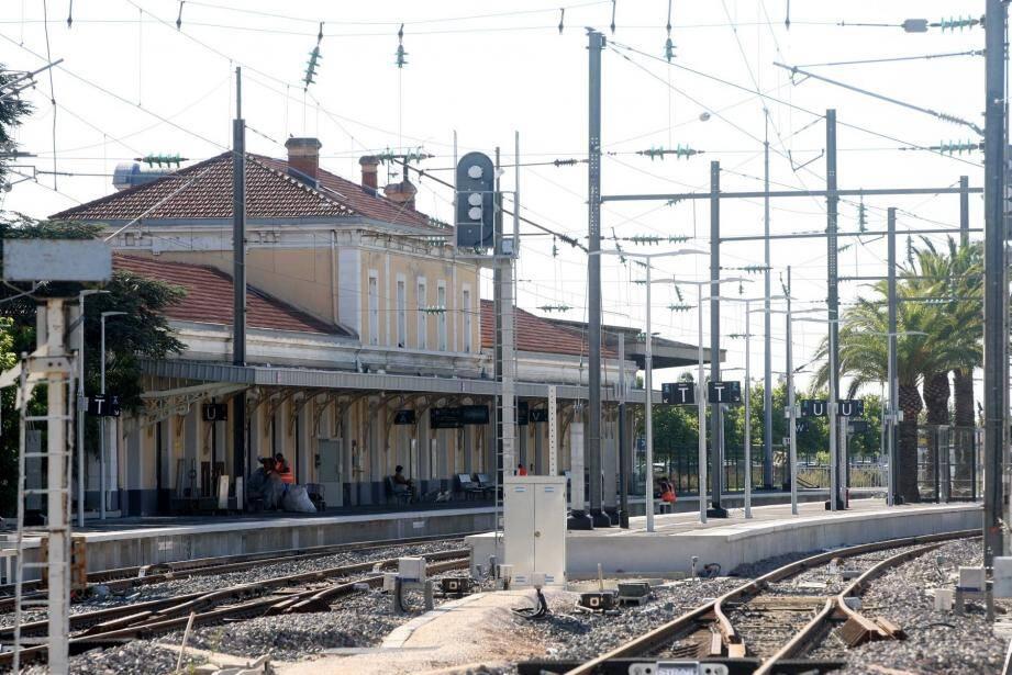 Les trains de retour à Hyères