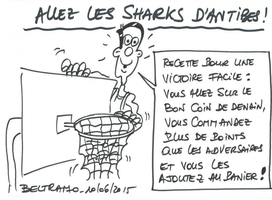Lundi dans Nice-Matin Antibes: une édition collector spécial Sharks