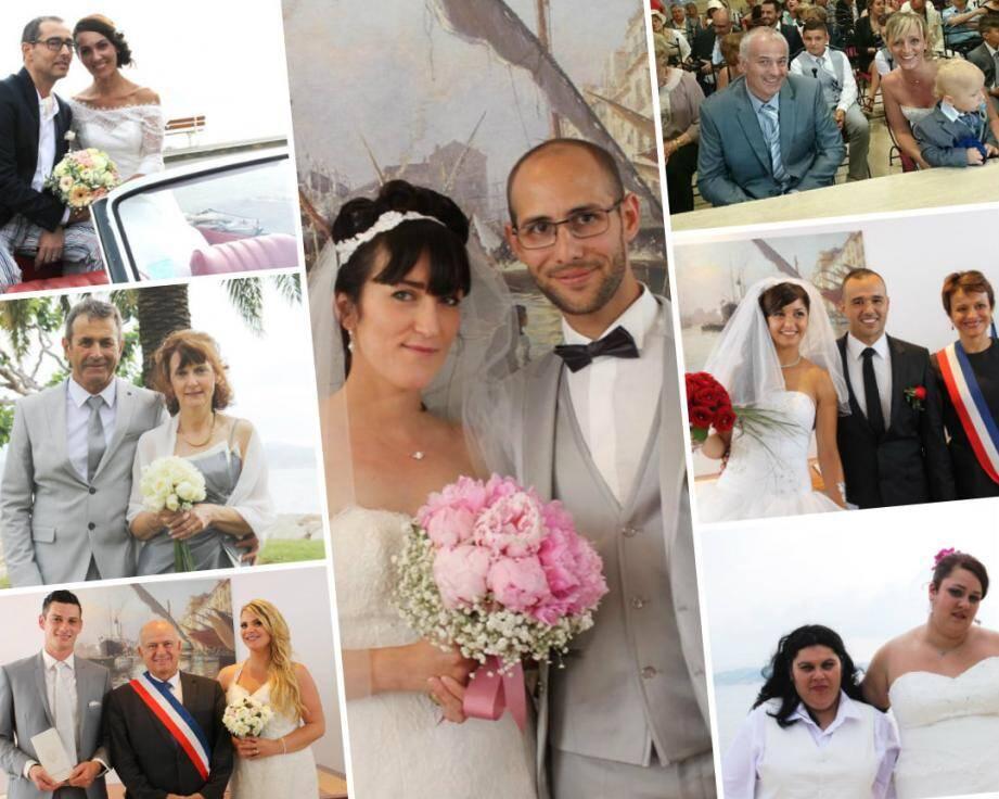PHOTOS .Les mariages... à Toulon et au Revest