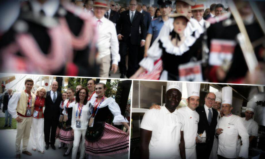 Le prince Albert II était mardi à Milan pour visiter le pavillon monégasque de l'Expo universelle.