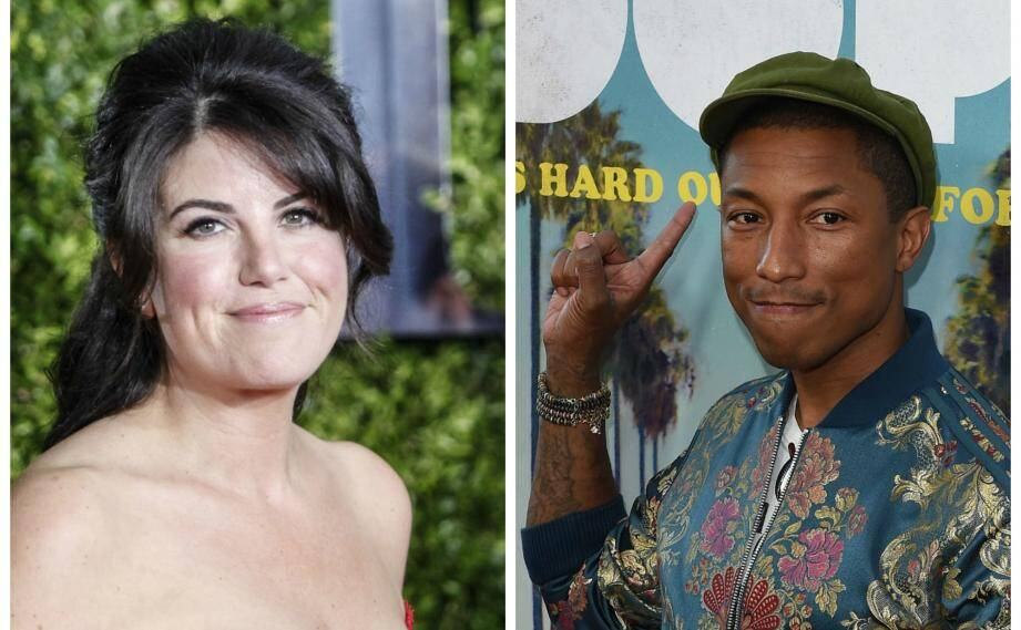 Pharrell Williams et Monica Lewinsky aux Cannes Lions