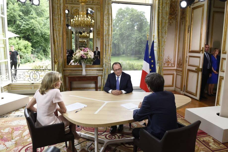 François Hollande ITW 14-Juillet