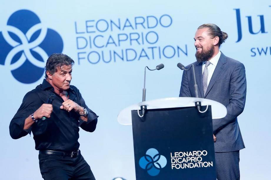 Leonardo DiCaprio, maître de cérémonie de la soirée de Gassin